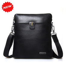 2016 New Arrival Man Shoulder Bag High Quality Brand Name Fashion 100% Genuine Leather Dual Function Messenger Men's Bag,HD-D3-1(China (Mainland))