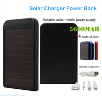Зарядное устройство 5600mAh iPhone 4s 5 5S 6/6 iPad iPod Samsung Nokia 5600mAh Solar Charger for iPhone, iPad, iPods; Samsung HTC,Nexus; LG