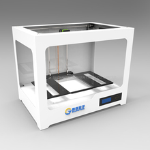 Free shipping DHL 3D printer D230 3D printing machine three-dimensional USB port LAN port Pla ABS material LED screen