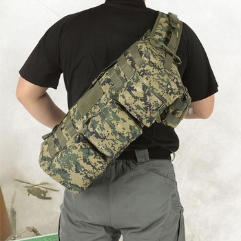 Outdoor US air force fatboy gobag single shoulder cross-body casual military tactical MOLLE multi-pockets Pack free shipping