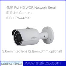 4MP Full HD WDR Network Small IR Bullet Camera IPC-HFW4421S Dahua IP Camera POR IR 30M DH-IPC-HFW4421S(China (Mainland))