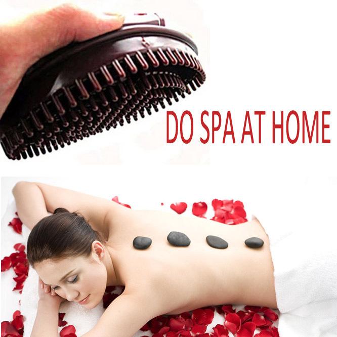 1Pc Hand-Held Slimming Body Massage Brush Skin Head Massagers Reduce Cellulite SPA Beauty Healthy Tool(China (Mainland))