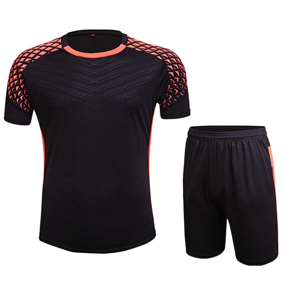 New Mens Boys Football Jerseys Training Soccer Sets Anti-Shrink Custom Football Jersey Sports Uniform Jersey Camisetas de Futbol(China (Mainland))