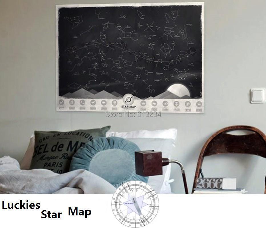 Фото - Стикеры для стен Luckies 1Piece 61,5 * 43,5 /home GAH-007 стикеры для стен home decal 60 90