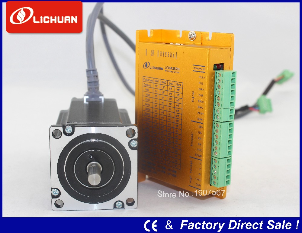 3n m 57 nema23 hybrid servo closed loop stepper motor and for 3 phase stepper motor
