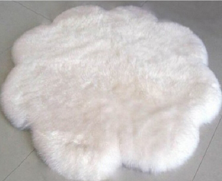 Wholesale manufacturers pure wool round carpets European Home Furnishing mat Bedroom Sofa cushion custom wool(China (Mainland))
