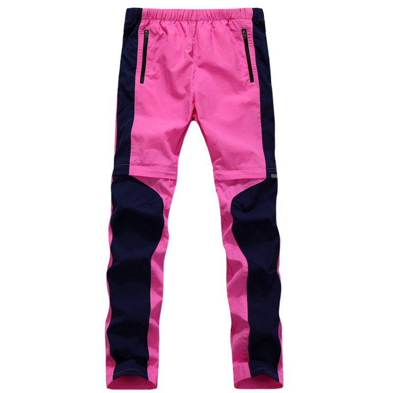 Quick-drying pants women cultivate one's morality spring summer outdoor air ultra-thin trousers removable type two - Sunshine group Ltd store
