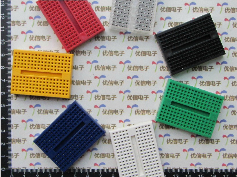 Blue,circuit board breadboard test breadboard,robot board, for arduino board,SYB-170,free shipping(China (Mainland))