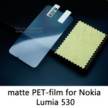 Glossy Lucent Frosted Matte Anti glare Tempered Glass Protective Film Screen Protector For Nokia Lumia 530 Nokia Lumia 510 Dual