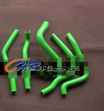 Green Silicone  Hose kit  for kawasaki kx250 KX 250 90 91 92 93 1990 1991 1992 1993(China (Mainland))