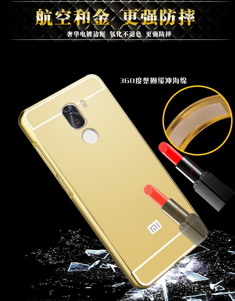 For Xiaomi Mi5S plus Case Luxury Mirror Metal Aluminum+Acrylic Hard Back Cover For Xiaomi Mi 5S Plus 5.7inch Accessory Fundas