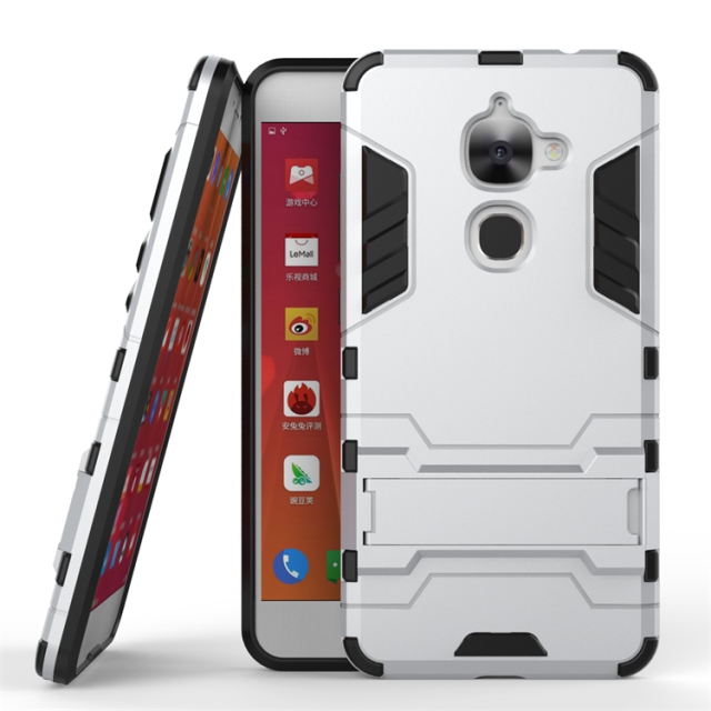 For Letv Le 2 X620 Le 2s 5.5 inch Case High Quality PC and TPU Hybrid Armor Cover Stand Durable Mobile Phone Case(China (Mainland))