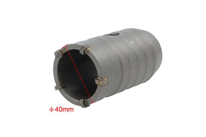 Impact Hammer Concrete Cement Wall Hole Saw Reamer Air Conditioning Pipes Connecting Rod Drill Hole(China (Mainland))