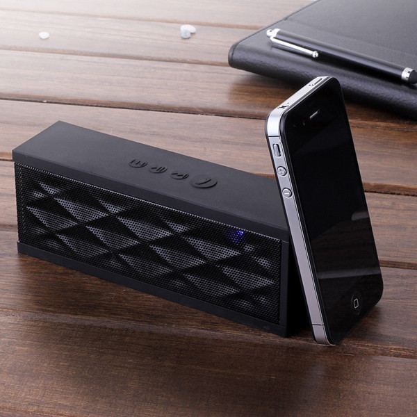 Wireless Bluetooth fashion portable Hifi Mini Speaker Outdoor Stereo Subwoofer for iPhone 6 5S iPad 5 4 Free shipping(China (Mainland))