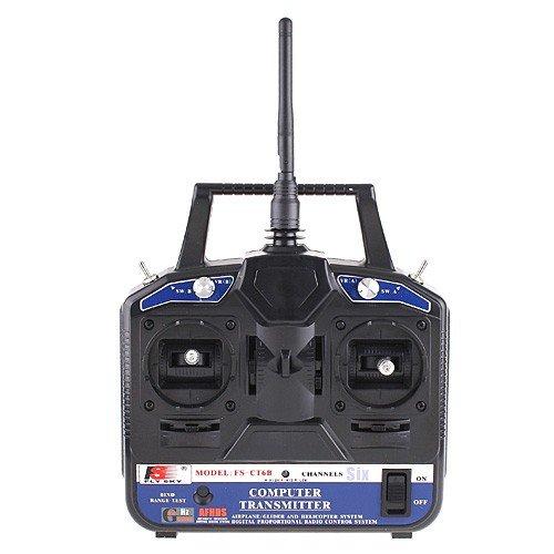 2.4Ghz Flysky FS-CT6B Radio Model 6CH RC Transmitter & Receiver Heli/Airplane/Glid(China (Mainland))