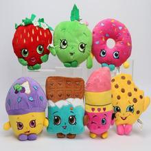 7 Styles Fruit and Icecream Plush Toy Dolls & Stuffed Toys(China (Mainland))