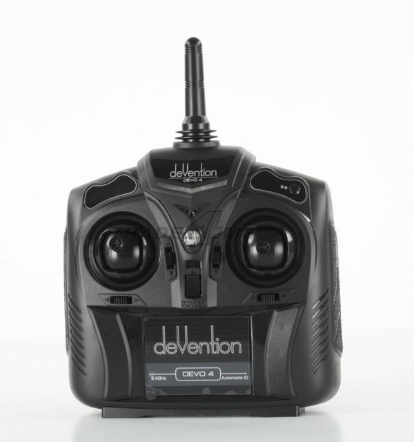 F04737 Walkera Devention Devo 4 2.4GHZ 4CH RC Transmitter Radio controller Devo4 + FS