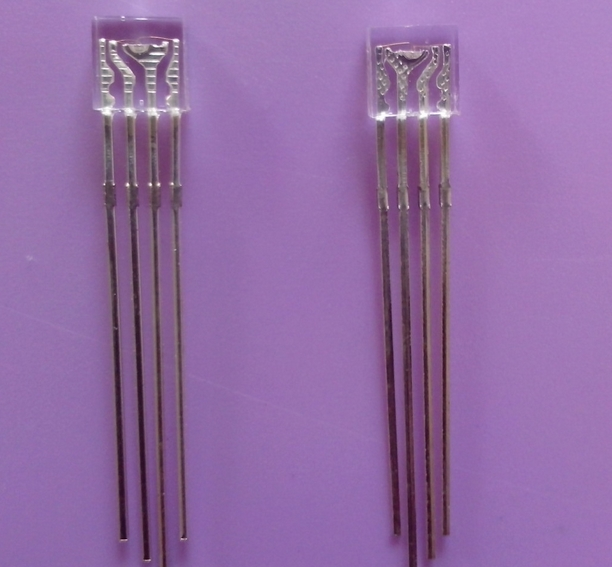 1000pcs ODM Water Clear Rectangular 2*5*5MM RGY LED Diode Common Anode/Cathode Available 4pins(China (Mainland))