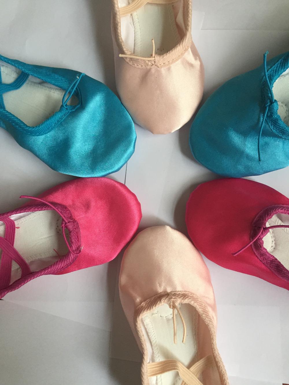 DB24059 Satin Ballet Shoes