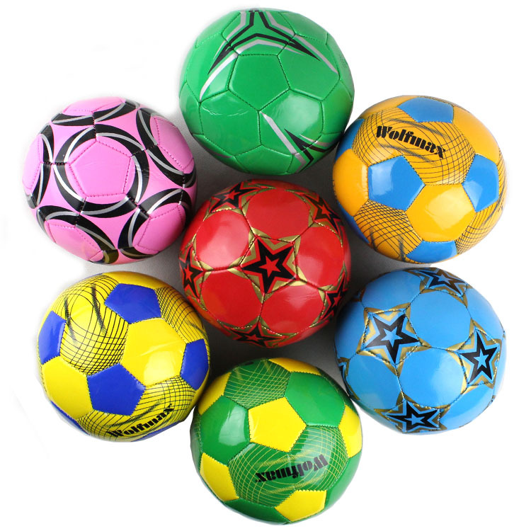 Baby kindergarten special small football inflatable ball exercise toy football filial children gifts(China (Mainland))