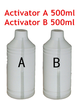 Free shipping Activator A and B each 500ml for Water Transfer Printing Film/trigger for hydrographic film, decorative material