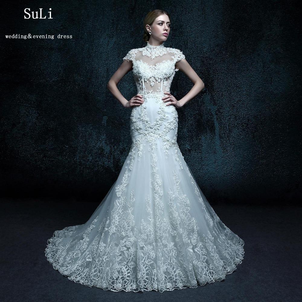 Buy zxb24 morden mermaid wedding dress for Winter mermaid wedding dresses