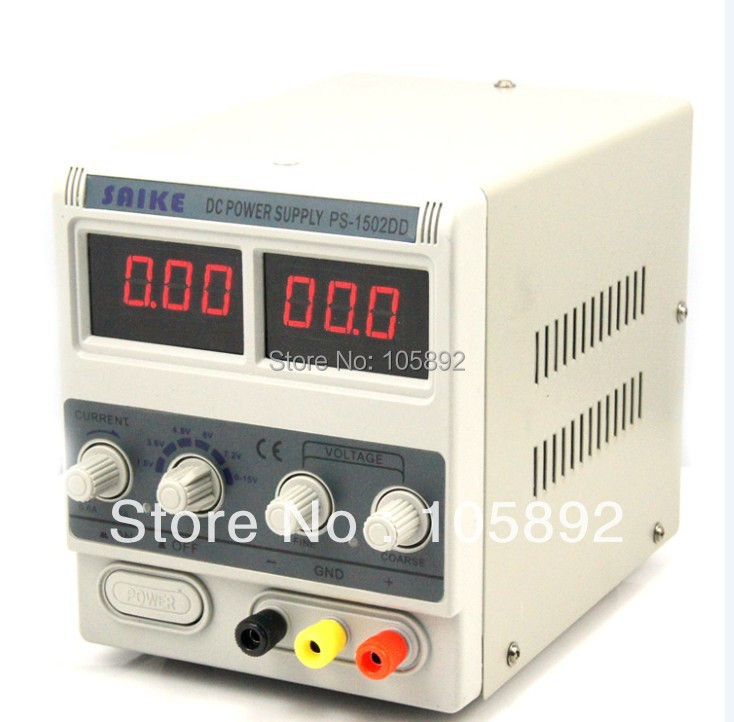 Free shipping1502DD 15V 2A Double LED Display Stable Voltage DC Power Supply Phones Adjustable Digital Regulated power<br><br>Aliexpress