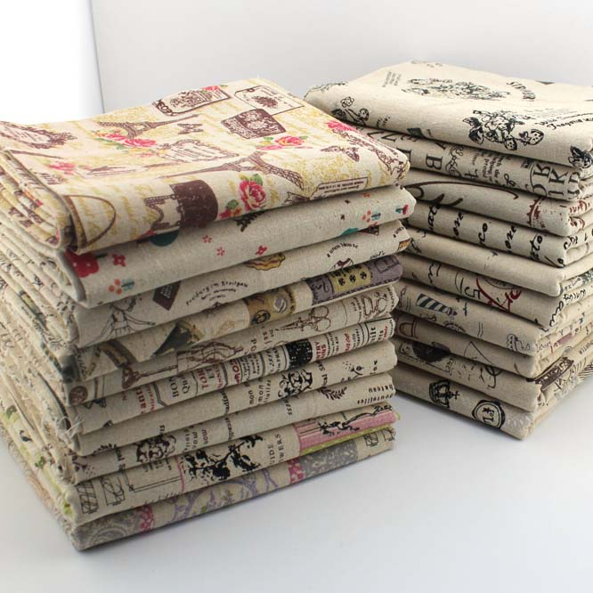 Online buy wholesale printed burlap fabric from china for Decorative burlap fabric