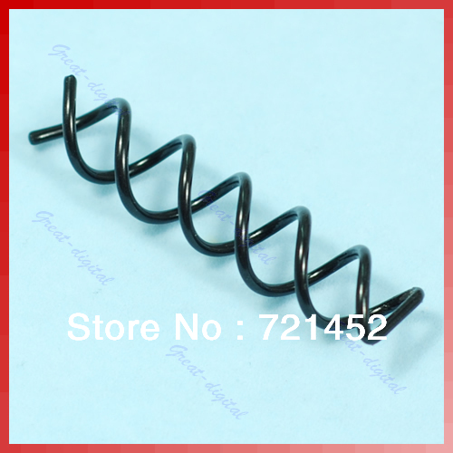 Free Shipping 50pcs/lot Special Design Hair Coil Clip Screw Pin Comb New Y106(China (Mainland))
