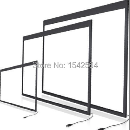 70''inch, 2points Infrared touch screen Industrial USB touch panel for interactive game(China (Mainland))