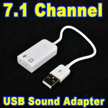 Buy Mini USB 2.0 Sound Cards Virtual Channel 7.1 External USB Audio Sound Card Adapter Laptop PC Windows XP 7 8 10 Linux Mac OS for $1.10 in AliExpress store