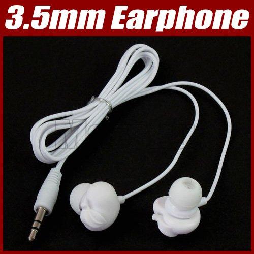 3.5mm Cute apple stereo headphone earphone For mp3 PC#1505(China (Mainland))