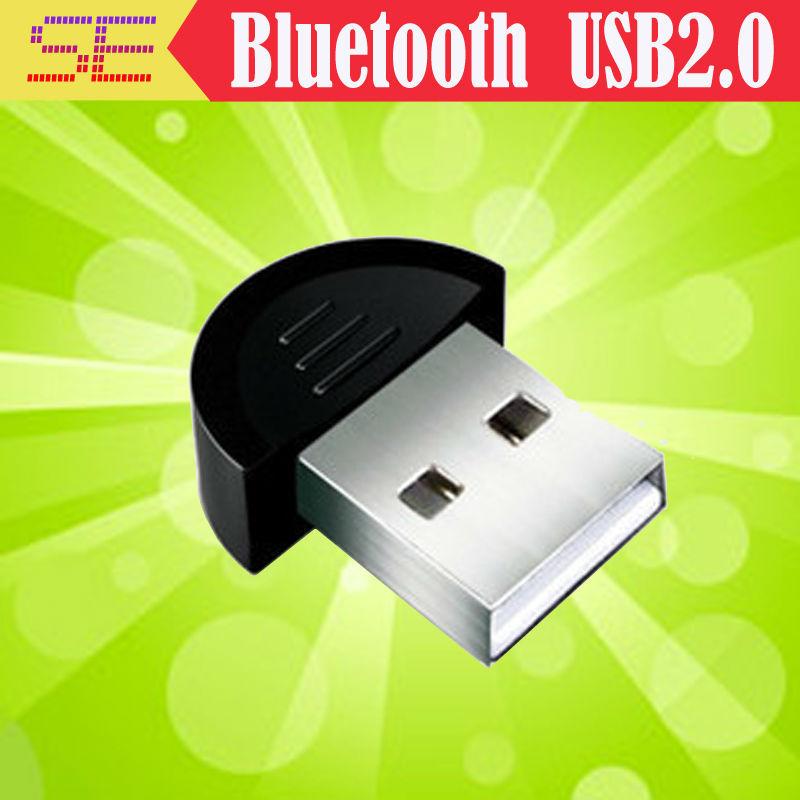 free shipping Bluetooth USB 2.0 Dongle Adapter smallest bluetooth transmitter adapter V2.0 EDR USB Dongle 100m PC Laptop(China (Mainland))