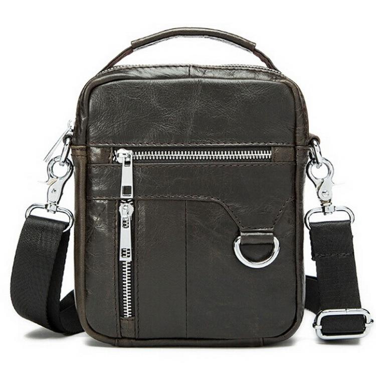 Hot sale New 2015 fashion genuine leather men bags small shoulder bag men messenger bag crossbody leisure bag free shipping(China (Mainland))