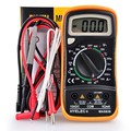 Digital LCR Meter Professional Multifunction LCD Display Mini Multimeter Temperature Test Multimetro MAS838 PEAKMETER