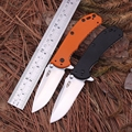 High Quality Ball Bearing System CNC Real Camping Folding Knife Blade Material D2 High Hardness 60HRC
