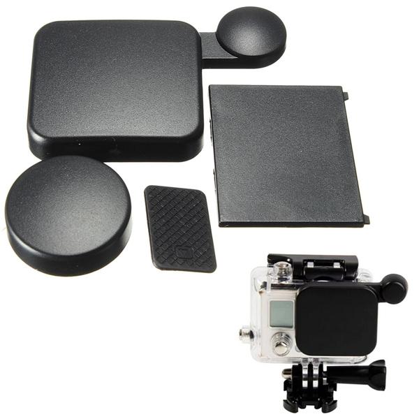 Camera Housing Lens Cap Battery Door Replacement Side