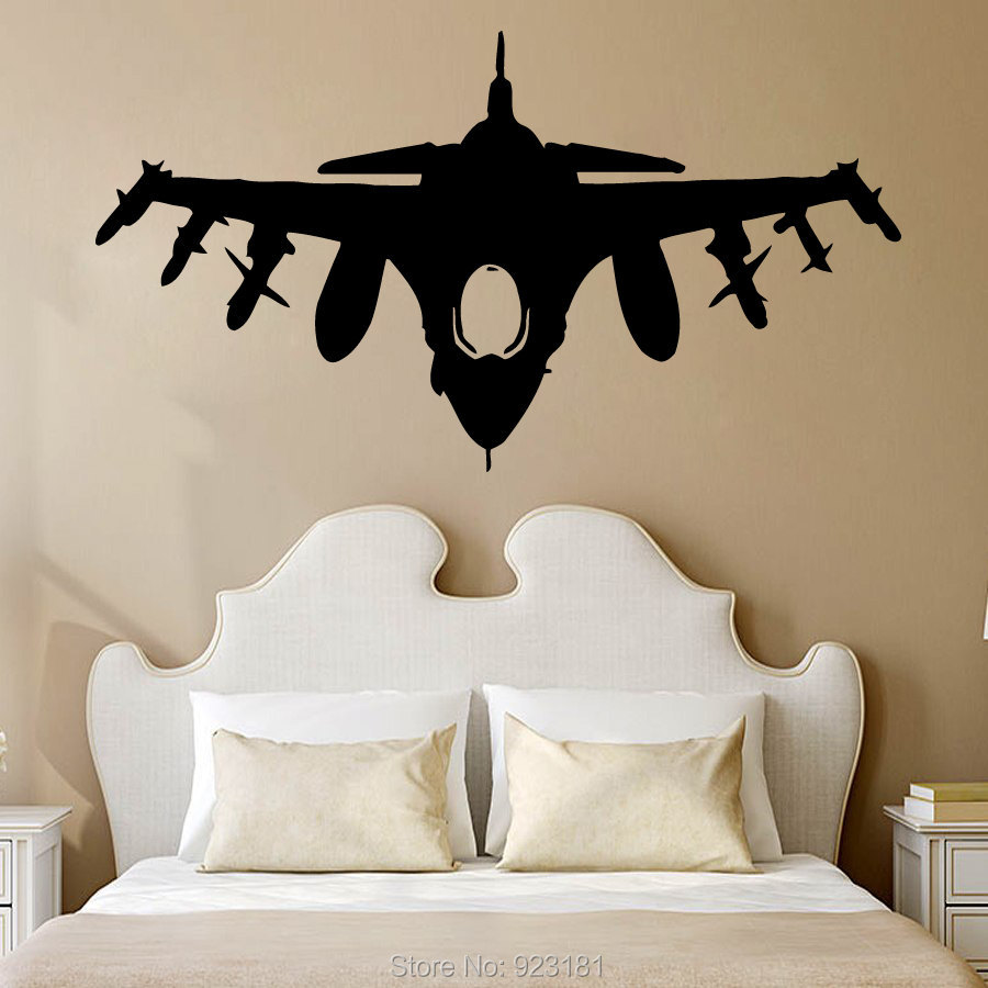 Military wall art popular military wall murals buy cheap for Cheap wall mural decals