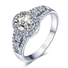 Buy GR.NERH Wedding Rings Gold-color Jewelry Women AAA+ Cubic Zirconia 3 Bands Vintage Halo Engaged Rings Women Jewelry for $1.91 in AliExpress store