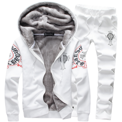 Size M-3XL 2015 winter printed wool liner jacket men, sports suit clothing set men coat+pants sets casual sweatshirt hoodiesОдежда и ак�е��уары<br><br><br>Aliexpress