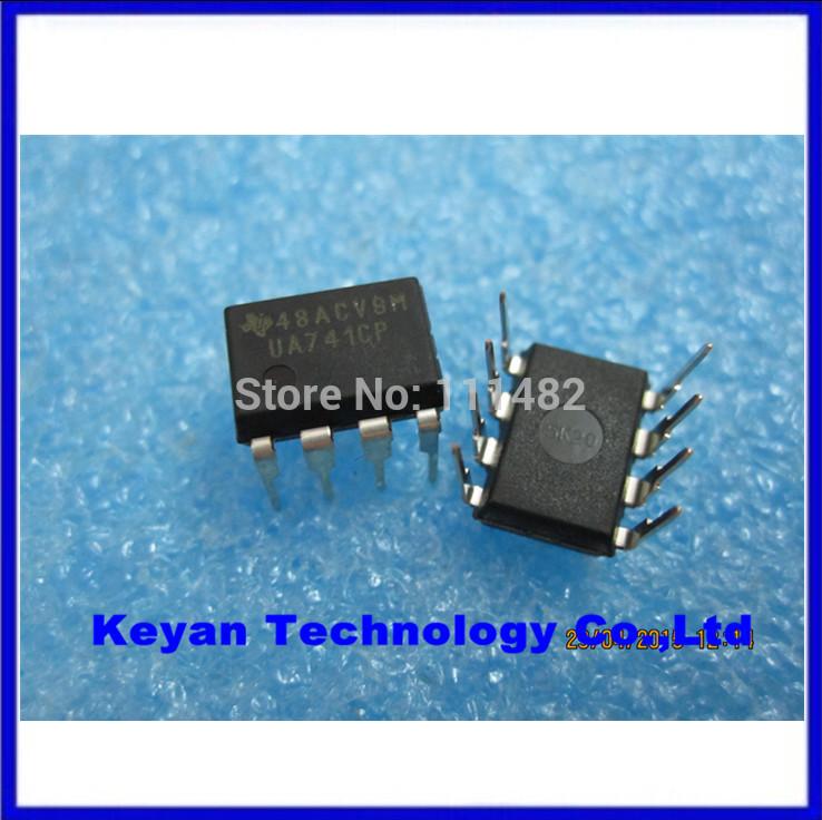 . 20UA741CP UA741 UA741CN IC DIP-8 Integrated circuit amplifier good quality ROHS 100% NEW - Keyan Technology Co.,Ltd store