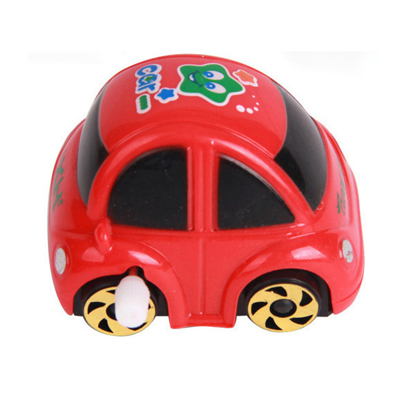Novelty cute kids toys car Develop ability and interest of small toy car traffic wind up toys for children free shipping(China (Mainland))
