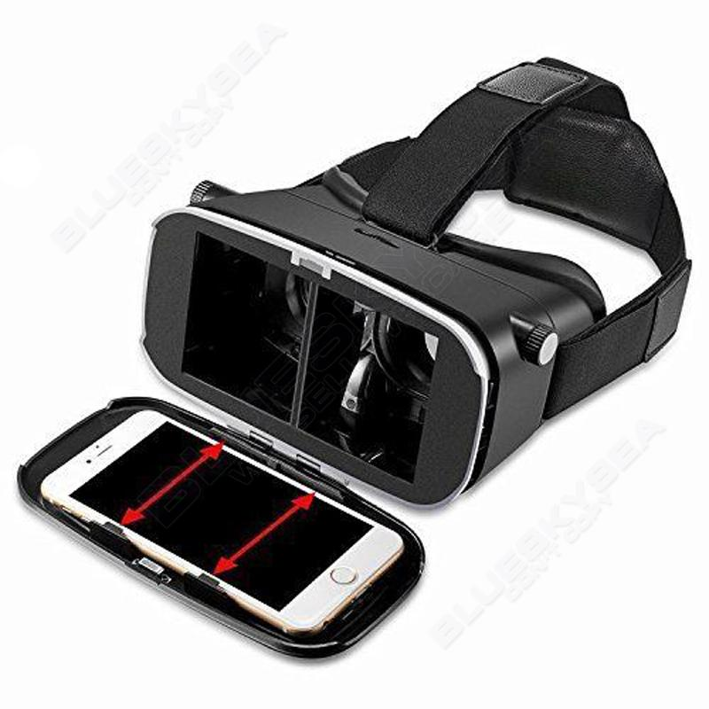"""ถูก จัดส่งฟรี! 3DจริงเสมือนVR SHINECONภาพยนตร์เกมแว่นตากล่องสำหรับ3.5 """"-6""""โทรศัพท์สมาร์ท"""