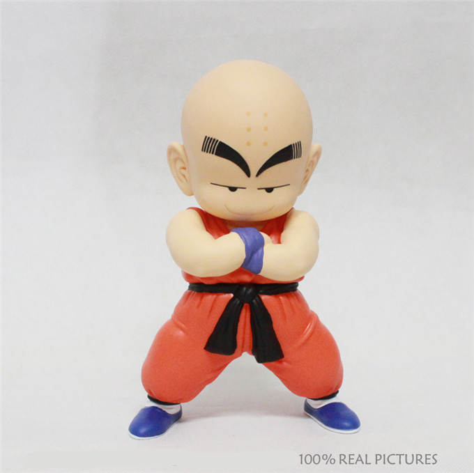 Blister Packing 17CM Japanese Anime Dragon Ball Z Krillin PVC Action Figures Model Collection Toy(China (Mainland))