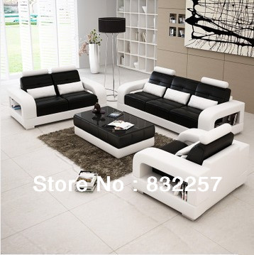 Hotsell New Mordern Genuine Leather Sofa Business Casual