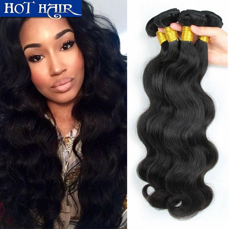 Malaysian virgin hair natural color hair extension Malaysian body wave  human hair weave  Malaysian hair weave bundles soft<br><br>Aliexpress