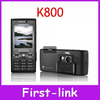 Original Sony Ericsson K800 K800i  3G 3.15MP MP3 Player Unlocked  Mobile Phones 12 Month Warranty Free shipping