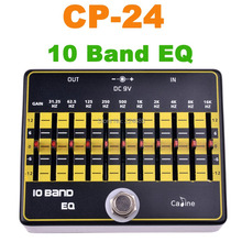 CP-24 10 Band EQ Guitar Effects Caline Guitar Pedals Effect Pedal CP24 10 Band EQ Effects  Free ship(China (Mainland))