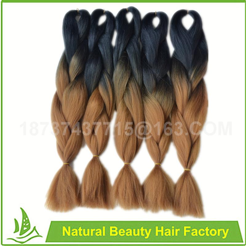 Ombre Xpression 100 Kanekalon Jumbo Braiding Hair 24