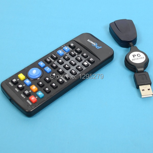 1pcs Free Shipping USB Computer Remote Control Media Centre Controller FOR PC Laptop Window 7 XP q(China (Mainland))